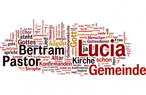 wordle - Lucia Teil I