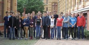 Teilnehmer der Schülertagung