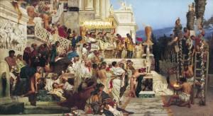 Die lebenden Fackeln des Nero (1876 von Henryk Siemiradzki)