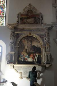 Epitaph für Otto von Pogk (1578) von Lucas Cranach dem Jüngeren