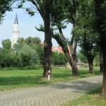 Blick auf St. Nicolai