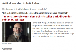 20151204 LiZ.de Interview mit Volly Tanner